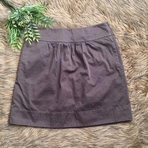LOFT Ann Taylor Brown Petites Pencil Skirt